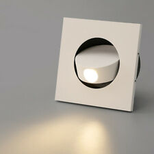 LED Wall Flush Mount Fixture Light Step Stair Lighting Reading Bedroom Recessed