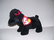 TY Beanie Baby Gigi Poodle Dog Rare with Date Errors AND China Stamp 307 In Tag