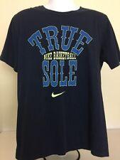 Nike Blue True Sole Basketball Short Sleeve  T-Shirt Mens L Large