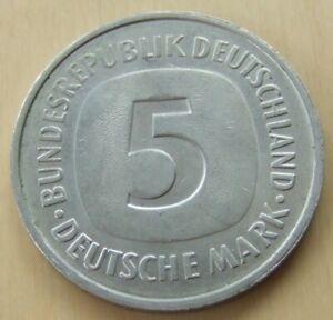 1978 German 5 mark coin