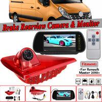 "For Renault Master 2010-2020 7"" Monitor + Brake Light Reversing Parking Camera"