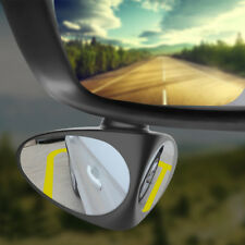 Car Blind Spot Mirror  Wide Angle 360 Rotation Convex Rear View Safety Mirror