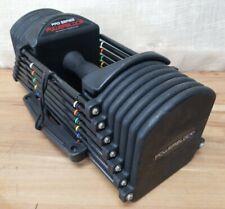 Excellent Condition POWERBLOCK Pro Series 32 lbs 15 kg Adjustable Dumbbells