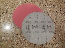 "NEW Brunswick Siaair 6"" Micro Finishing Pad, 4000 Grit, NIB"
