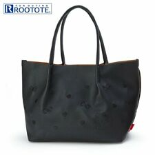 Hello Kitty mini Tote Bag Embroidery Black ROOTOTE Sanrio Japan