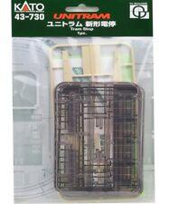 NEW Kato N Scale Unitram Streetcar / Kit Tram Stop 43-730