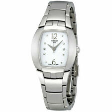 NEW Tissot Analog business Femini-T Silver Ladies T0533101101700 MSRP $450