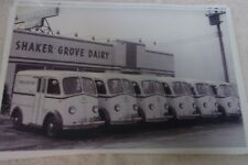 1950 'S ? WHITE TRUCK MILK TRUCKS  11 X 17  PHOTO  PICTURE