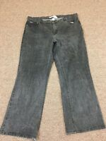 Tommy Hilfiger Denim Women's Faded Black Jeans Sz 20