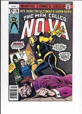 The Man Called Nova #20 July 1978 1st Project X (Sherlock Holmes Robot)