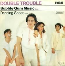 """DOUBLE TROUBLE BUBBLE GUM MUSIQUE DANSE SHOES 7"""" S5683"""