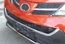 For Toyota RAV4 2013 2014+ ABS Chrome Front Grille Cover Trim New