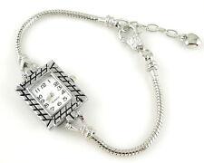 1pcs Charm Watch Bracelet Snake Chain Fit European Bead 20cm WP13