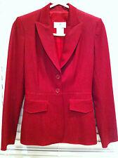 Vertigo Paris blazer/jacket  fitted red xs