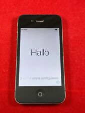 Apple iPhone 4S 32GB Black GSM Unlocked A1387 AT&T T-Mobile Cricket H2O