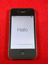 Apple iPhone 4S 8GB Black GSM Unlocked A1387 AT&T T-Mobile Cricket H2O