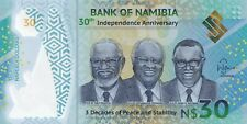 2020 NAMIBIA 30 Dollars, 30th Anniversary Polymer Commemorative, Brand New UNC