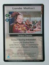 1999 Babylon 5 Ccg - Severed Dreams - Rare Card - Londo Mollari ( Diplomat )