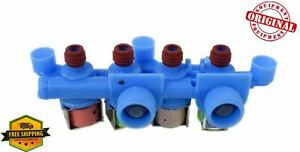 New OEM GE WH13X26637 Washer Quad Water Valve WH13X24058 Genuine