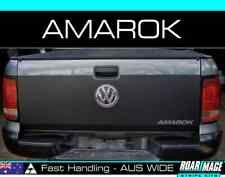 TAILGATE wrap VW Volkswagen AMAROK stripes decals sticker