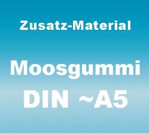 DIY-Stempelset / Moosgummi 2 mm, Material-Pack M6,  15x20 cm, DIN A5