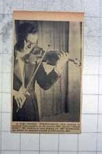 1951 Violinist Tom Jenkins Playing 1667 Stradivarius
