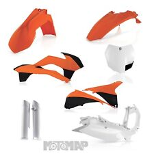 FULL KIT PLASTICHE ACERBIS KTM SX 125 144 150 250 REPLICA COLOR 2013