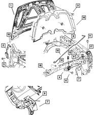 Genuine Mopar Hood Prop Rod Pivot Bushing 4716486