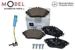 Mercedes Genuine Front Brake Pad SET 0004203002 With Sensor W176 W117 W156 W246