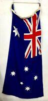 Vintage Australian Ship Flag XL Nautical Canvas Goods NV Brand