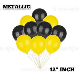 "12"" 20X50 PLAIN & METALLIC LATEX BALLOONS HALLOWEEN PARTY DECORATION BALOONS UK"