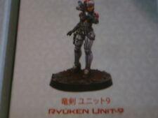 Infinity JSA Ryuken Unit-9 Female Yu Jing metal new