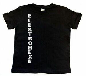 Elektrohexe Kinder T-Shirt Gothic
