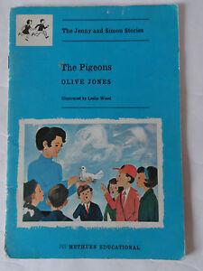 Vintage School Reading Book The Pigeons Olive Jones Jenny & Simon Stories