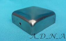 """50mm x 50mm (2"""") SQUARE STAINLESS STEEL PYRAMID POST CAP FENCE/RAILING/NEWEL TOP"""