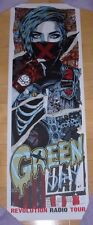 Green Day concert gig poster print Duluth 3-10-17 2017 tour Rhys Cooper