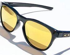 1184791d122c NEW  Oakley STRINGER Black Polished 24K Gold Fire Iridium Sunglass oo9315-04