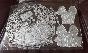 Metal Cutting Dies, Joy of Giving Die  fits with carnation crafts - Christmas