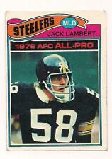 1977 Topps HOF Jack Lambert Pittsburgh Steelers #480