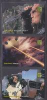 Skybox - 30 Years of Star Trek Phase 1 1995 - Die-Cut Technology Insert Set (3)