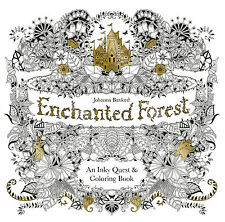 Enchanted Forest An Inky Quest Adult Colouring Book Johanna Basford Anti Stress