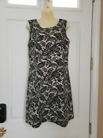 Van Heusen - Studio Floral Cotton Sleeveless Shift Dress Lined SZ/6 Worn Once!