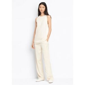 E257 NWT VINCE STRAIGHT PLEAT WOMEN TROUSERS SIZE XS $345