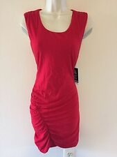 EXPRESS MINI RUCHED DRESS XS NWT RED