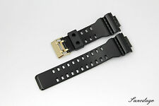 Genuine Casio Watch Strap GA-110GB-1A,GAC-100BR-1A,GD-100GB-1,GDF-100GB-1 Band