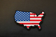 PVC U.S.A. Flag Map Morale Patch American Patriot 2A NRA 3% Oath Keeper Murica