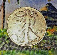 "1940 ""S"" Walking Liberty Half Dollar"