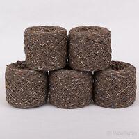 *250g*BRITISH WOOL+SILK*4 Ply.Brown Tweed.yarn.knitting.nylon binder thread.pure