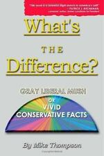What's the Difference? Gray Liberal Mush or Vivid Conservative Facts