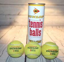 Vintage Dunlop Championship Tennis Balls Yellow Made In England